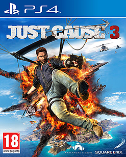 Just Cause 3 PS4 Cover Art