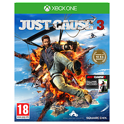 Just Cause 3 Xbox One Cover Art