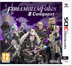 Fire Emblem Fates - Conquest Nintendo 3DS Cover Art