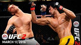 EA Sports UFC 2 screen shot 9