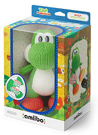 Mega Yarn Yoshi - amiibo - Yoshi's Woolly World Collection Toys and Gadgets