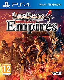 Samurai Warriors 4: Empires Playstation 4 Cover Art
