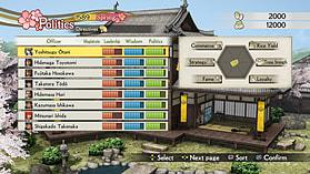 Samurai Warriors 4: Empires screen shot 13