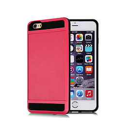 Frostycow Hard Card Shock Case Cover for Apple iPhone 6/6S FREE SCREEN Protector Pink Mobile phones