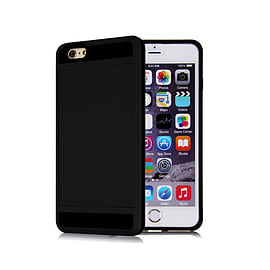 Frostycow Hard Card Shock Case Cover for Apple iPhone 6 PLUS/6S PLUS & FREE SCREEN Protector Black Mobile phones
