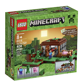 LEGO Minecraft 21115 The First Night Blocks and Bricks