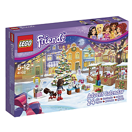 LEGO Friends 41102 Advent Calendar Blocks and Bricks