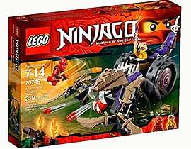 LEGO Ninjago 70745 - Anacondral Crusher Blocks and Bricks