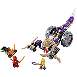 LEGO Ninjago 70745 - Anacondral Crusher screen shot 1