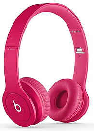 Beats Solo HD On-Ear Headphones in Matte Pink Audio