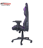 GT Omega PRO Racing Office Chair Black Next Purple Leather screen shot 1