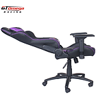 GT Omega PRO Racing Office Chair Black Next Purple Leather screen shot 2