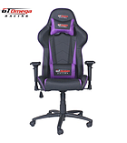 GT Omega PRO Racing Office Chair Black Next Purple Leather screen shot 4