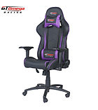 GT Omega PRO Racing Office Chair Black Next Purple Leather screen shot 5