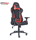 GT Omega PRO Racing Office Chair Black Next Red Leather screen shot 1