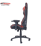 GT Omega PRO Racing Office Chair Black Next Red Leather screen shot 2