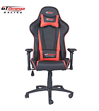 GT Omega PRO Racing Office Chair Black Next Red Leather screen shot 5