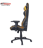 GT Omega PRO Racing Office Chair Black Next Yellow Leather screen shot 2