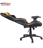 GT Omega PRO Racing Office Chair Black Next Yellow Leather screen shot 3