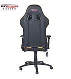 GT Omega PRO Racing Office Chair Black Next Yellow Leather screen shot 4