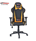 GT Omega PRO Racing Office Chair Black Next Yellow Leather screen shot 5