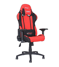 GT Omega PRO Racing Office Chair Red and Black Fabric Multi Format and Universal