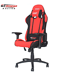 GT Omega PRO Racing Office Chair Red and Black Fabric screen shot 1