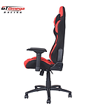 GT Omega PRO Racing Office Chair Red and Black Fabric screen shot 2