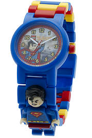 LEGO DC Universe Super Heroes Superman Minifigure Link Watch Blocks and Bricks