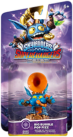 Big Bubble Pop Fizz – Skylanders SuperChargers Character Toys and Gadgets