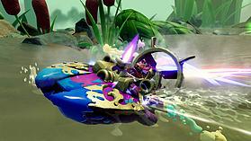 Splatter Splasher – Skylanders SuperChargers Vehicle screen shot 2