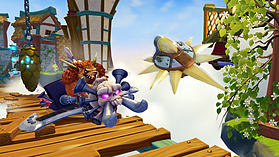 Skylanders SuperChargers Racing Pack - Sky screen shot 7