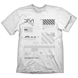 Assassin's Creed Men's Animus Powered By Abstergo Industries T-shirt, Extra Large, White Clothing