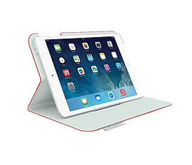 Logitech Folio Protective Case For Ipad Mini Retina - Red Tablet
