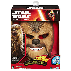 Star Wars The Force Awakens Chewbacca Electronic Mask Figurines and Sets