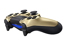 Official Sony PlayStation DualShock 4 Control Pad - Gold screen shot 1