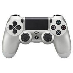 Official Sony PlayStation DualShock 4 Control Pad - Silver PS4