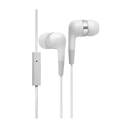 Groov-e Mobile Buds Stereo Earphones with Microphone - White Mobile phones