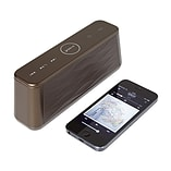 Groov-e Soundwave Bluetooth Speaker with Mic - Chocolate Brown screen shot 2