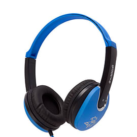 Groov-e Kidz DJ Style Headphone - Blue/Black Multi Format and Universal