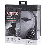 Groov-e Streetz Stereo Headphones with Volume Control - Black screen shot 2