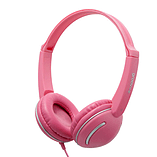 Groov-e Streetz Stereo Headphones with Volume Control - Pink screen shot 1