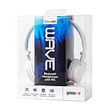 Groov-e Wave Bluetooth Stereo Headphones with Mic - White screen shot 3