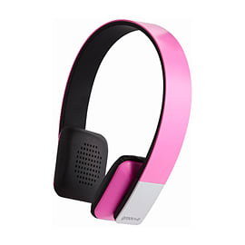 Groov-e Tempo Bluetooth Headphone - Pink Multi Format and Universal