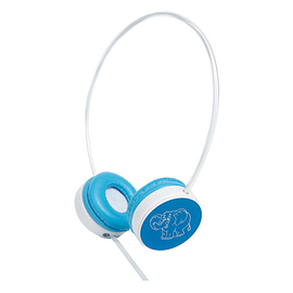 Groov-e Children's Headphones with Volume Limiter - Blue Multi Format and Universal