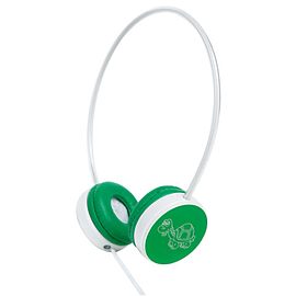 Groov-e Children's Headphones with Volume Limiter - Green Multi Format and Universal