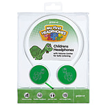 Groov-e Children's Headphones with Volume Limiter - Green screen shot 3
