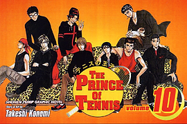 The Prince of Tennis: v. 10 (Prince of Tennis) Books