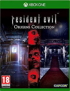 Resident Evil Origins Collection Xbox One Cover Art