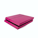 PS4 PlayStation 4 Colourful Vinyl Wrap: Matte Rose screen shot 1